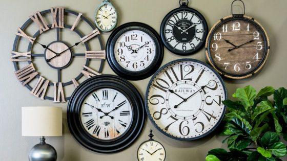 orologio vintage parete